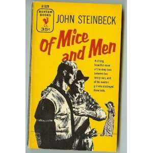 Of Mice & Men {1st PRINTING} (1955 ORIGINAL PRINT CLASSIC