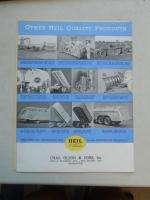 Vintage 1938 Heil Hydraulic Dump Truck Units Brochure Catalog ORIGINAL