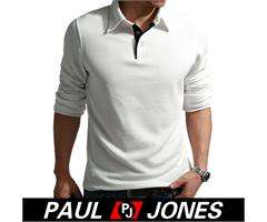 Men's Stylish Causal Long Sleeve pull over T Shirt Tops Tank Sz XS