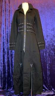XL Extra Large Womens Coat Jacket Goth Punk Industrial Cyber