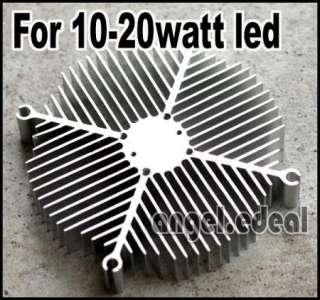 Aluminium heatsink cooling + 20w Warm White high power led light lamp