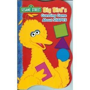 Big Birds Guessing Game About Shapes (Sesame Street) Bendon Books