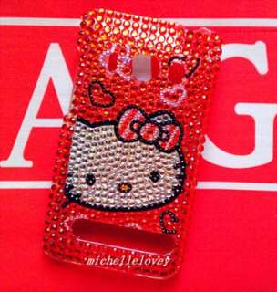Hello Kitty Bling Back Case for HTC Sprint EVO 4G EF5