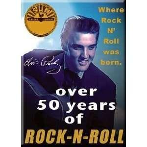 Elvis Presley Sun Records Over 50 Years of Rock N Roll