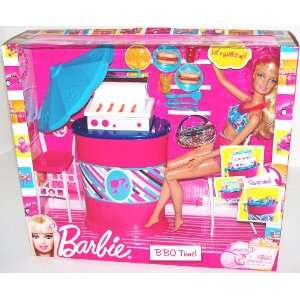 Barbie BBQ Time (Barbie Doll and BBQ Furniture) Toys