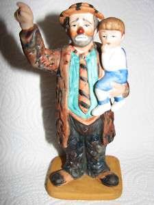 Original Emmett Kelly Circus Collection Lim.Ed. Signed