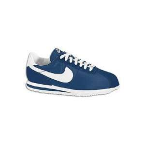 Bandana Fever : Nike Big Kids Cortez Nylon (Navy/White):