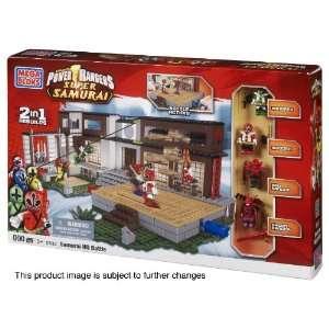 Mega Bloks Power Rangers Samurai HQ Battle Toys & Games