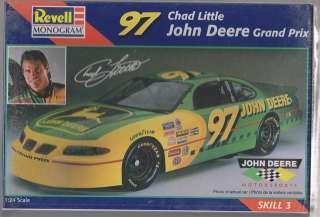 97 Chad Little Pontiac Grand Prix 1/24 Plastic Model Kit