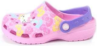 Kitty crocs Sandals★Kids/Girls Flip Flops Pool Beach Shoes Pink