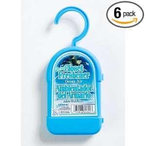 Closet Freshener   Ocean Air, (Pack of 6)