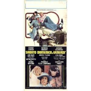 Saturday, Sunday and Friday Movie Poster (13 x 28 Inches