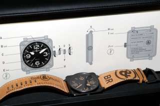 Bell & Ross BR 01 92 Heritage black PVD MILITARY SPEC UNWORN Limited