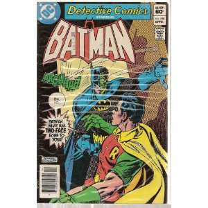 Comics Starring Batman 513 (What has 2 face done to batman?) Books