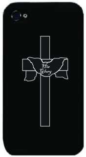 His Glory iPhone 4g Case   Cross, Faith, Christ