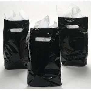 Black Plastic Bags   Party Favor & Goody Bags & Plastic Goody Bags