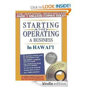 and Operating a Business in Hawaii (Starting and Operating a Business