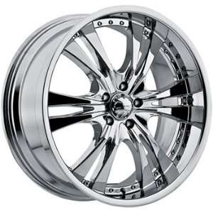 Incubus Origin 22x9.5 Chrome Wheel / Rim 5x4.75 with a 18mm Offset and