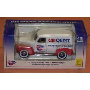 1952 Car Quest Chevy Panel Delivery Truck Limited Edition