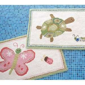 Pottery Barn Kids Spring Meadow Bath Mat: Home & Kitchen