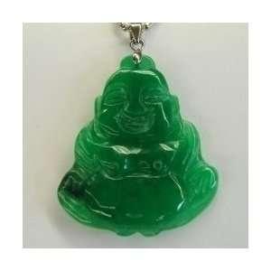 Fashion Jewelry ~ Jade Buddha Pendant ~ Carved Buddha