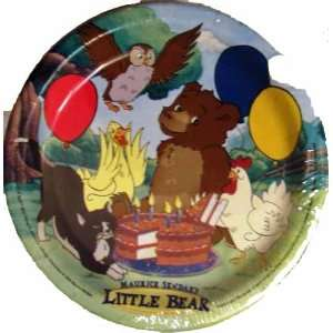 Maurice Sendaks Little Bear Cake Plates (8) 6 3/4, Party