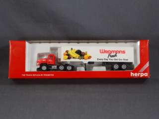SCALE   HERPA 6072 SEMI TRACTOR w/ TRAILER WEGMANS FOOD MARKETS