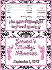 baby shower favor bags pink