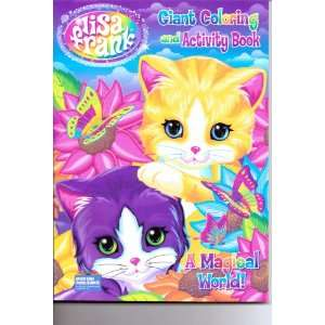Lisa Frank Giant Coloring & Activity Book ~ a Magical