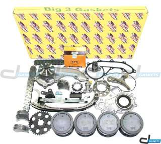 Toyota 4Runner Tacoma T100 2.7 DOHC Overhaul Engine Kit