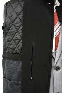 Calvin Klein Park Mens Black Raincoat Jacket Coat S M L XL XXL