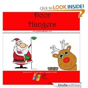 Christmas Craft Kids Door Hangers (QuickCraft): QuickCraft: