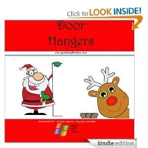 Christmas Craft Kids Door Hangers (QuickCraft) QuickCraft