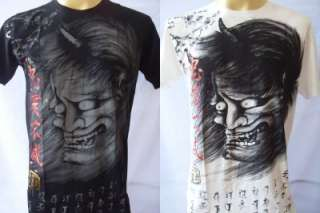 Emperor Eternity Japanese Demon Mask Tattoo T shirt M L XL