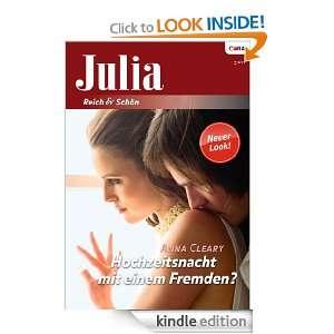 Hochzeitsnacht mit einem Fremden? (German Edition) Anna Cleary