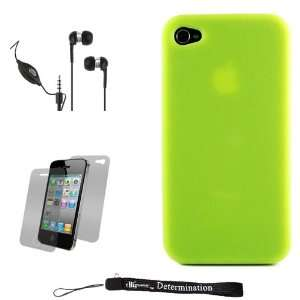 Green Smooth Durable Protective Silicone Skin Cover Case