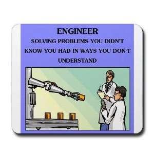engineer engineering joke Funny Mousepad by CafePress