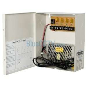Fuse Free CCTV Camera HIGH AMP Power Box  Design for IR Night Vision