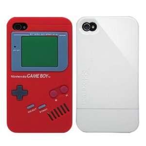 2pcs Set Nintendo Game Boy Silicone Case Red + KoreTech