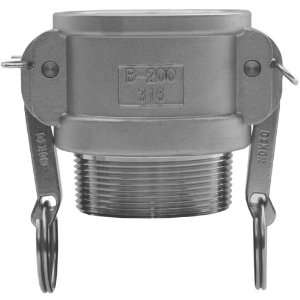Coupler x Male NPT   G400  B  SS  Industrial & Scientific