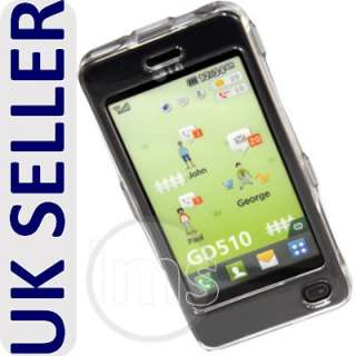 Magic Store   NEW CLEAR CRYSTAL HARD CASE SKIN SHELL FOR LG GD510 POP