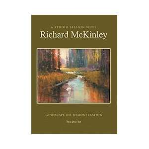 Richard McKinley  A Studio Session in Oil Painting DVD Home & Kitchen