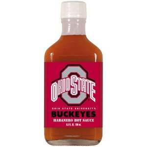 Ohio State Buckeyes 6.6 oz. Team Logo Habanero Hot Sauce