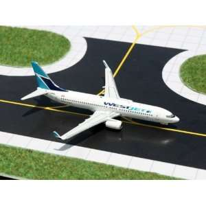 Gemini Jets WestJet B737 800 Model Airplane