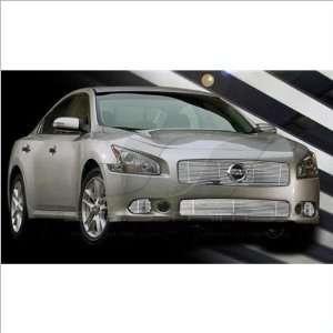 SES Trims Chrome Billet Upper Grille 09 11 Nissan Maxima Automotive