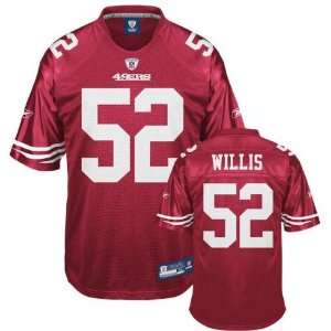 Patrick Willis #52 San Francisco 49ers Replica NFL Jersey