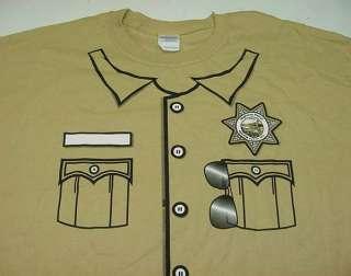 NEW NEVADA LAS VEGAS HIGHWAY PATROL POLICEMAN COSTUME UNIFORM T SHIRT
