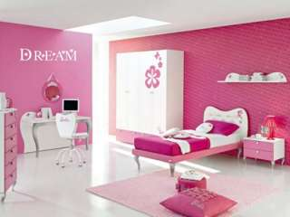 DREAM Girls Room Nursry Baby Home Decor Wall Art Decal