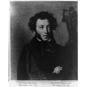 Alexander Pushkin,1799 1837,Russian author,Romantic era