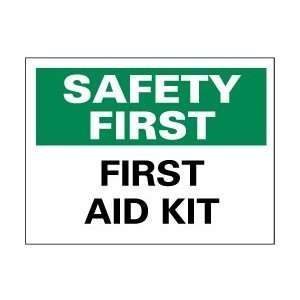 NMC First aid Kit Think & Safety Signs  Industrial